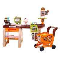 Supermarket s nákupným košíkom + 65 doplnkov Inlea4Fun