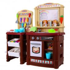 Veľká detská kuchynka Super Šéf s tečúcou vodou Inlea4Fun + príslušenstvo Preview