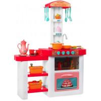Inlea4Fun ELISA Kuchynka so svetelnými a zvukovými efektmi so 46 doplnkami - ružová