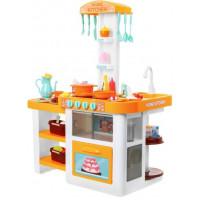 Inlea4Fun ELISA Kuchynka so svetelnými a zvukovými efektmi so 46 doplnkami - oranžová