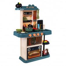 Detská kuchynka so 43 doplnkami Inlea4Fun HOME  KITCHEN - hnedá Preview