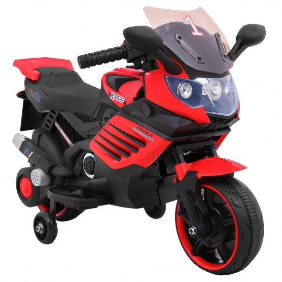 Elektrická motorka Superbike - červená