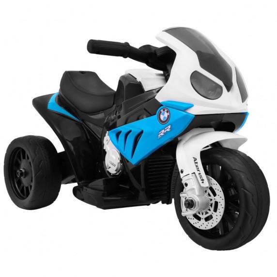 BMW S1000 RR mini detská elektrická trojkolka -modrá