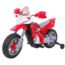 Elektrická motorka Inlea4Fun LANNER Cross Motor - červené Preview