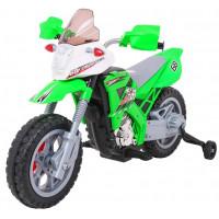 Elektrická motorka Inlea4Fun LANNER Cross Motor - zelené