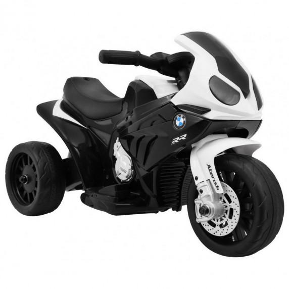 BMW S1000 RR mini detská elektrická trojkolka -čierna