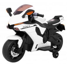 Elektrická motorka R1 Superbike - biela Preview