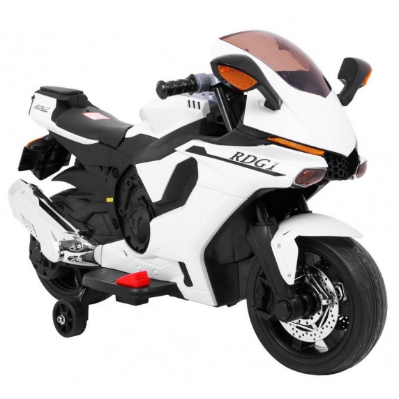 Elektrická motorka R1 Superbike - biela