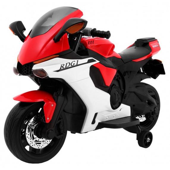 Elektrická motorka R1 Superbike - červená