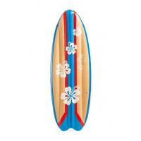 Nafukovacie lehátko 178 x 69 cm INTEX SURFS UP - kvetinkové