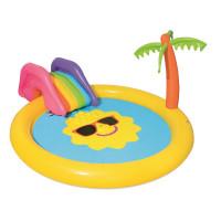 BESTWAY detský bazén so šmykľavkou SLNKO 53071