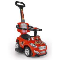 Detské vozítko 2v1 Milly Mally Happy - červené