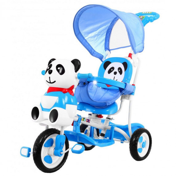 Trojkolka PANDA Inlea4Fun  - modrá