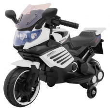 Elektrická motorka Superbike - biela Preview