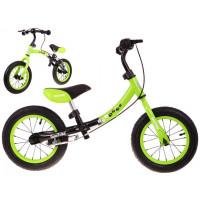 Inlea4Fun Cykloodrážadlo BOOMERANG 10 '- 12 - zelená