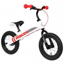 """Inlea4Fun Cykloodrážadlo RACER 12"""" - biele Preview"""