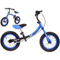 Inlea4Fun Cykloodrážadlo BOOMERANG 10 '- 12 - modrá