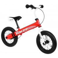 """Inlea4Fun Cykloodrážadlo RACER 12"""" - červené"""
