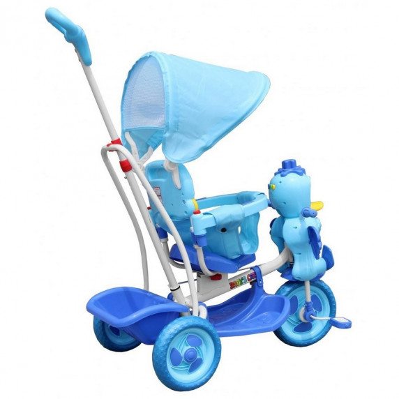 Trojkolka Kačička Inlea4Fun - modrá