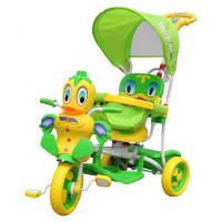 Trojkolka Kačička Inlea4Fun - zelená