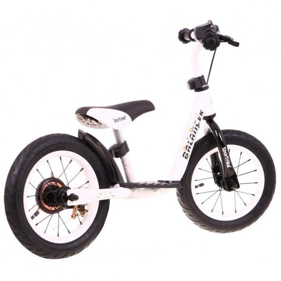 "Inlea4Fun Cykloodrážadlo BALANCER 12"" - biele"