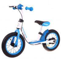 "Inlea4Fun Cykloodrážadlo BALANCER 12"" - modré"