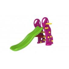 InGarden detská záhradná šmykľavka + basketbalový kôš 2v1 - fialova Preview