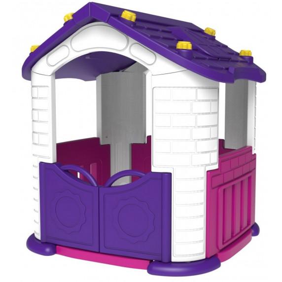 Inlea4Fun Detský záhradný domček 3 v 1 - fialový