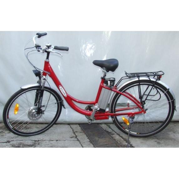 Eletrický bicykel Z-TECH LITHIUM (červený)