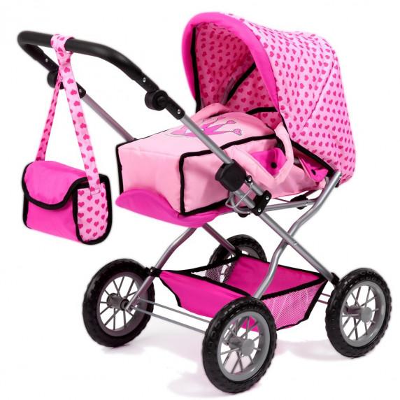 Detský kočík REIG Combi Grande - Ružový