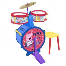 REIG Peppa Pig bubnový set so sedlom 2323 Preview