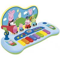 REIG Peppa Pig syntetizátor s figúrami a mikrofónom 2328