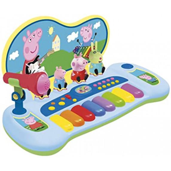 Syntetizátor s figúrami a mikrofónom REIG Peppa Pig 2328