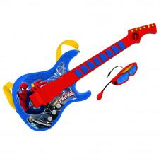 REIG Spiderman elektronická gitara s okuliarmi a mikrofónom Preview