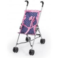 REIG golfový kočík pre bábiky - Modro-ružový