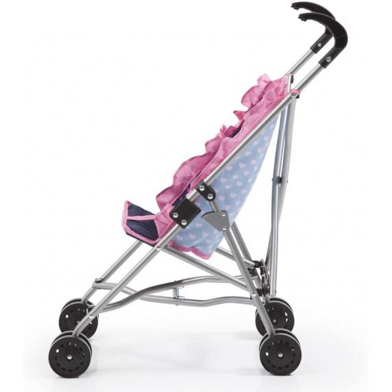 Golfový kočík pre bábiky REIG - Modro-ružový
