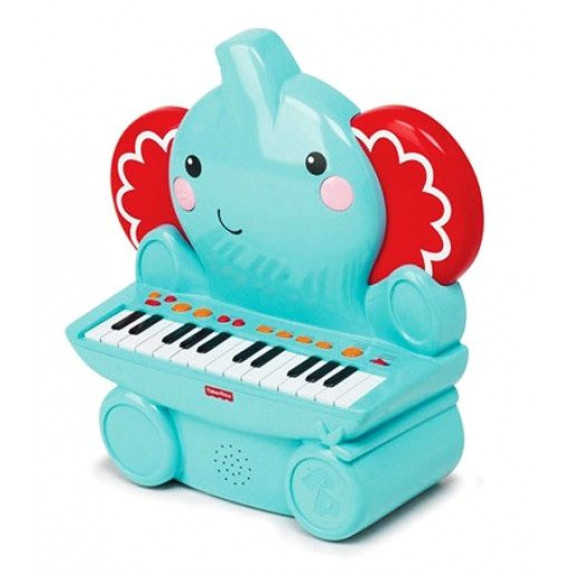 FISHER PRICE Syntetizátor slon s 25 klávesmi