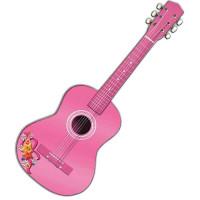 REIG Madera Detská drevená gitara 75 cm - Ružová