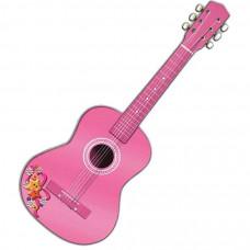 REIG Madera Detská drevená gitara 75 cm - Ružová Preview