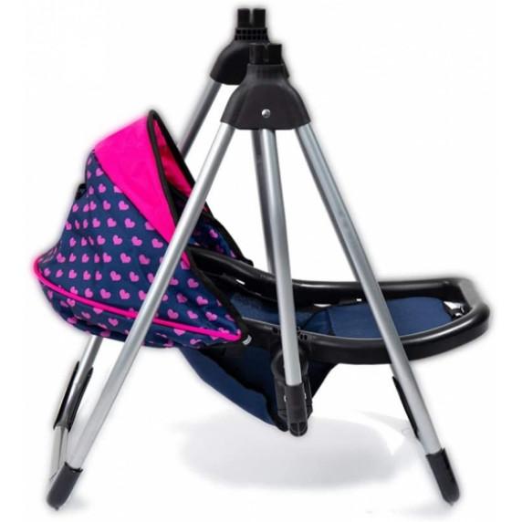 Jedálenská stolička a hojdačka 2v1 pre bábiky REIG UNICORN