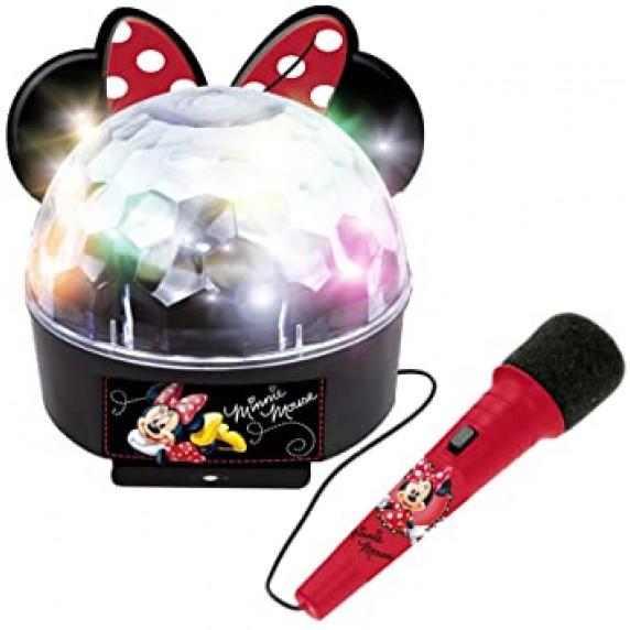 Disko guľa s mikrofónom a svetlom REIG Minnie Mouse