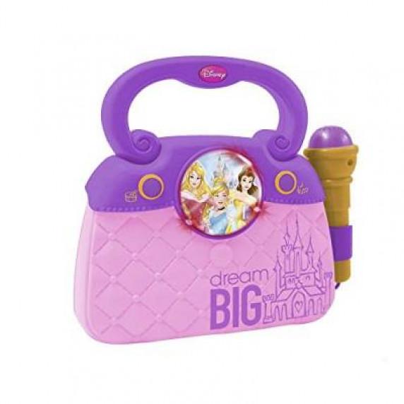 REIG  Disney Princess trendy taška s mikrofónom a melódiou 5293