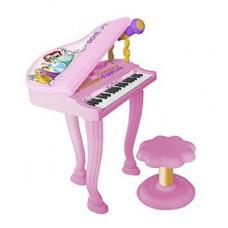 REIG Disney Princess elektrický klavír s mikrofónom a sedlom 5299 Preview