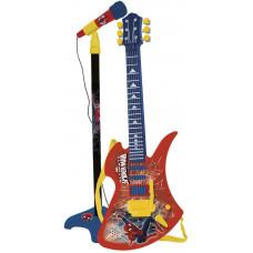 REIG Spiderman mikrofón na stojane so 6 strunovou gitarou Preview