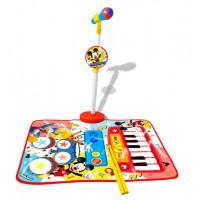 Hudobná podložka klavír a bicie s mikrofónom REIG Mickey Mouse 5571