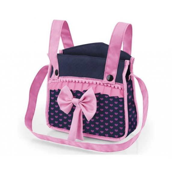 Detský kočík 67x41x68 cm REIG trendy luxus - Modro-ružový