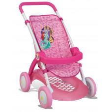 Detský športový kočík pre bábiku Disney Princezné Smoby ružový Preview