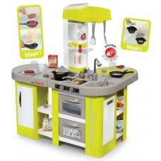 Detská kuchynka Tefal Studio XL Smoby so zvukom  a 36 doplnkami zeleno-šedá Preview