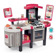 Detská elektronická kuchynka Tefal Super Chef Deluxe Smoby jahodovo-béžová Preview