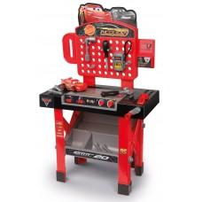 Detská pracovná dielňa Autá 3 Smoby s otáčacou pracovnou plochou a 21 doplnkami Preview